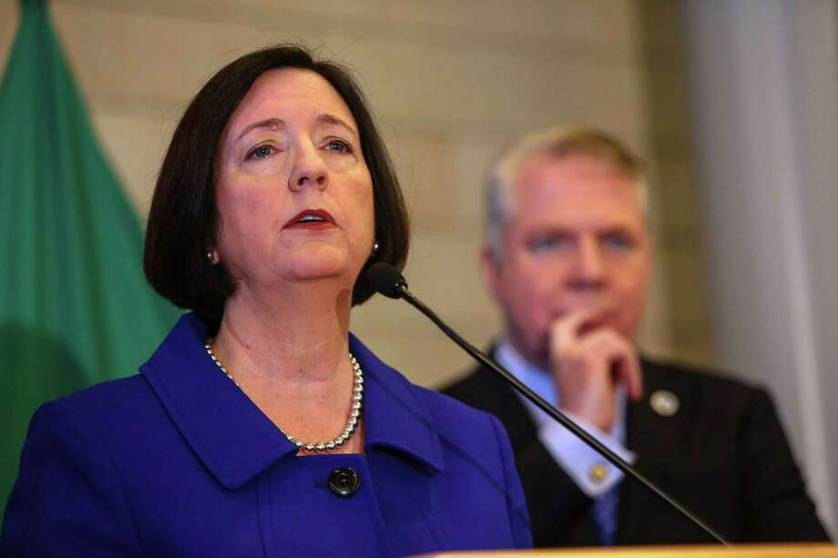 Kathleen O'Toole, Seattle Police ChiefSalary: $250,000.O'Toole was confirmed Monday by the Seattle City Council. Assuming Carrasco gets his big raise, O'Toole will be Seattle's second highest paid public employee. Photo: JOSHUA TRUJILLO, Seattlepi.com / SEATTLEPI.COM