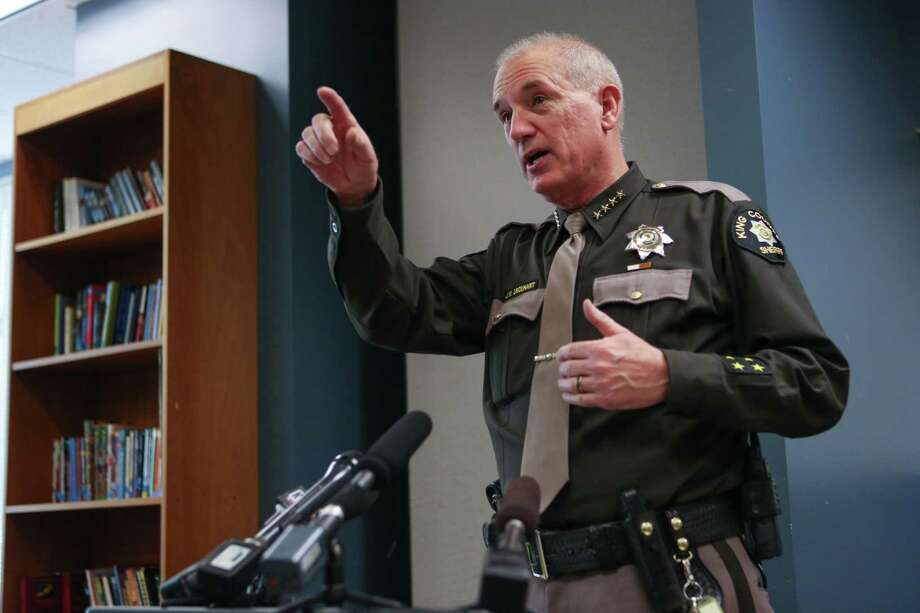 John Urquhart, King County SheriffSalary: $175,055 (2013). Photo: JOSHUA TRUJILLO, Seattlepi.com / SEATTLEPI.COM