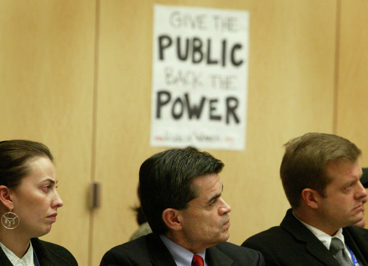 Jorge Carrasco, Seattle City Light CEO Expected annual salary: $305,000, as of July 1, which would make him the highest paid Seattle public employee by far. (See story for details). Carrasco, center, is pictured in 2007.