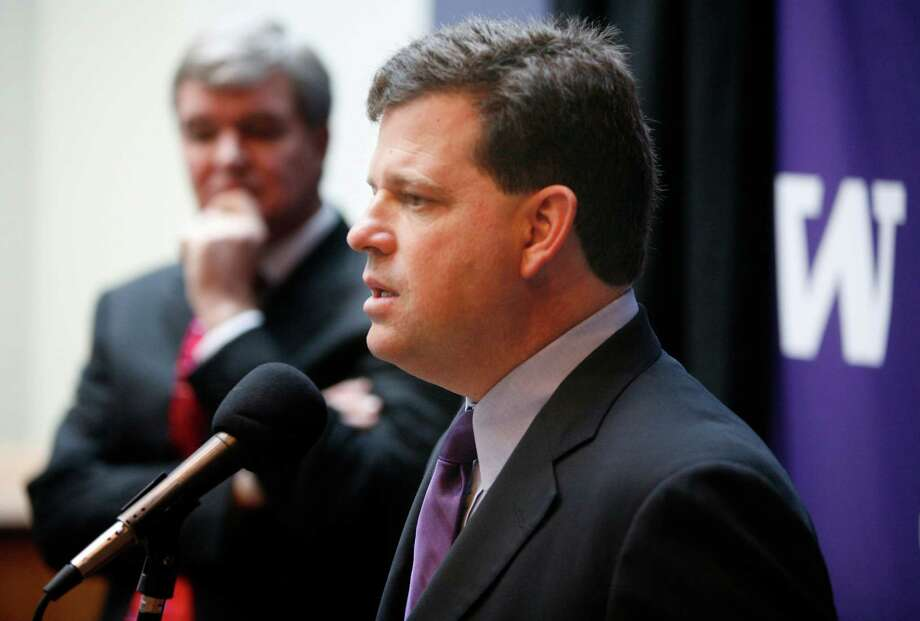 Scott Woodward, UW athletic directorSalary: $692,323 (2013).Woodward was the top paid state employee who wasn't a football or basketball coach. Photo: Paul Joseph Brown, P-I File / P-I file