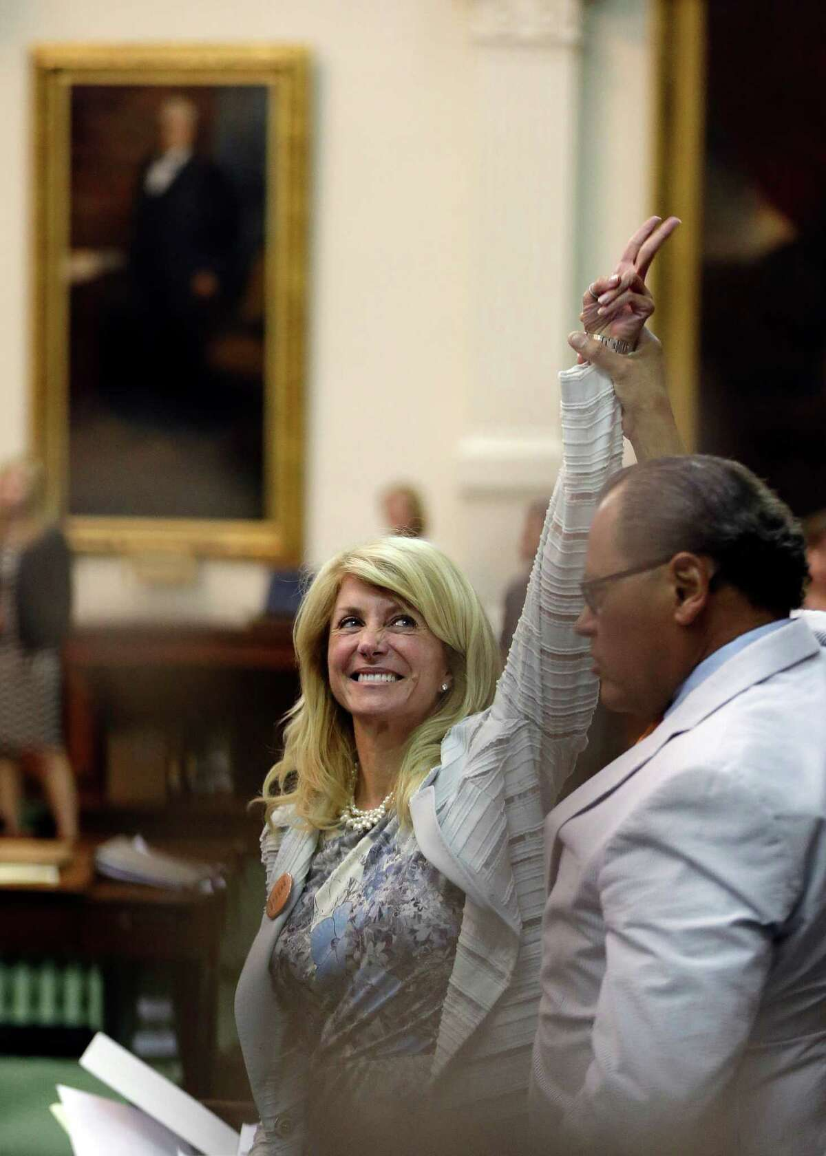 """Sen. Wendy Davis says she wants to """"fight back against Austin insiders set on closing women's health clinics and dramatically reducing access to healthcare for women and families across the state."""""""