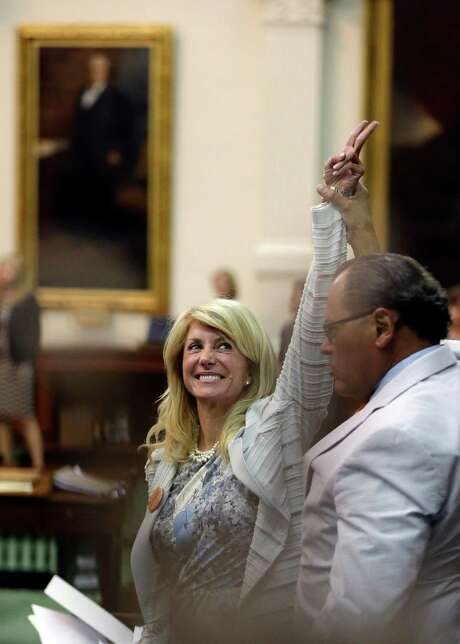 "Sen. Wendy Davis says she wants to ""fight back against Austin insiders set on closing women's health clinics and dramatically reducing access to healthcare for women and families across the state."" Photo: Eric Gay, STF / AP"