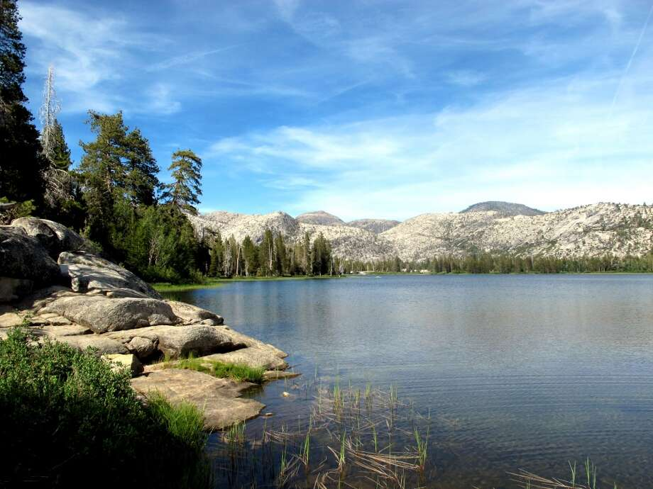 After Laurel, you then hike to Lake Vernon, gorgeous wilderness site Photo: Tom Stienstra