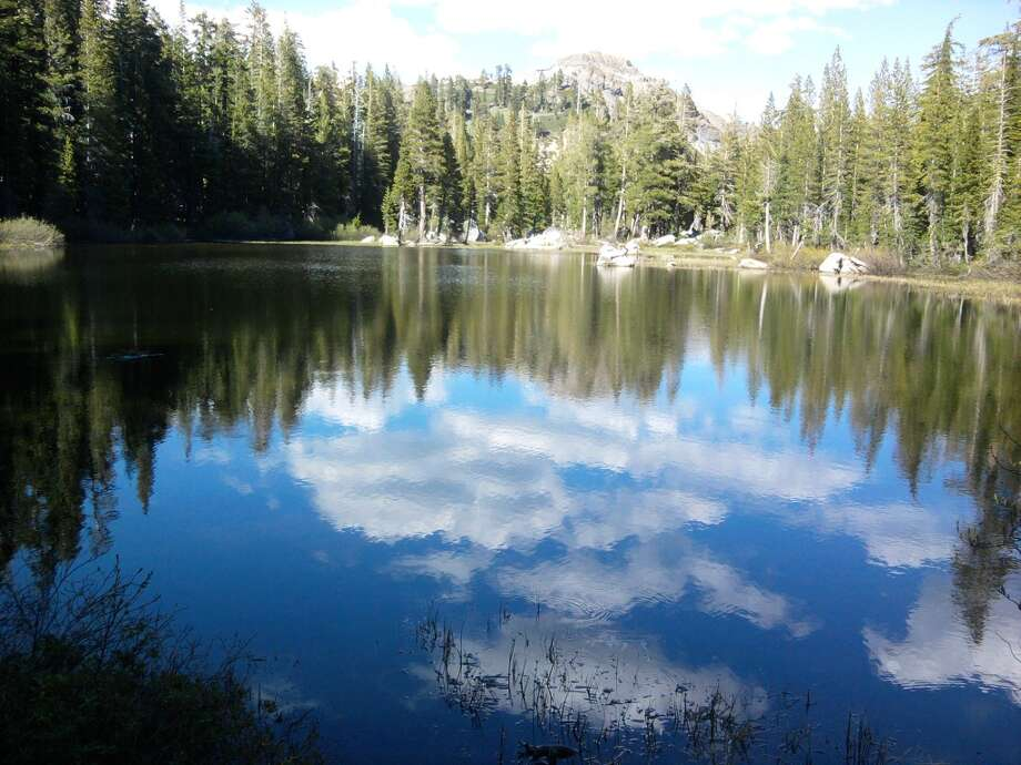 At north Tahoe, an hour's hike leads to Five Lakes Basin Photo: Tom Stienstra