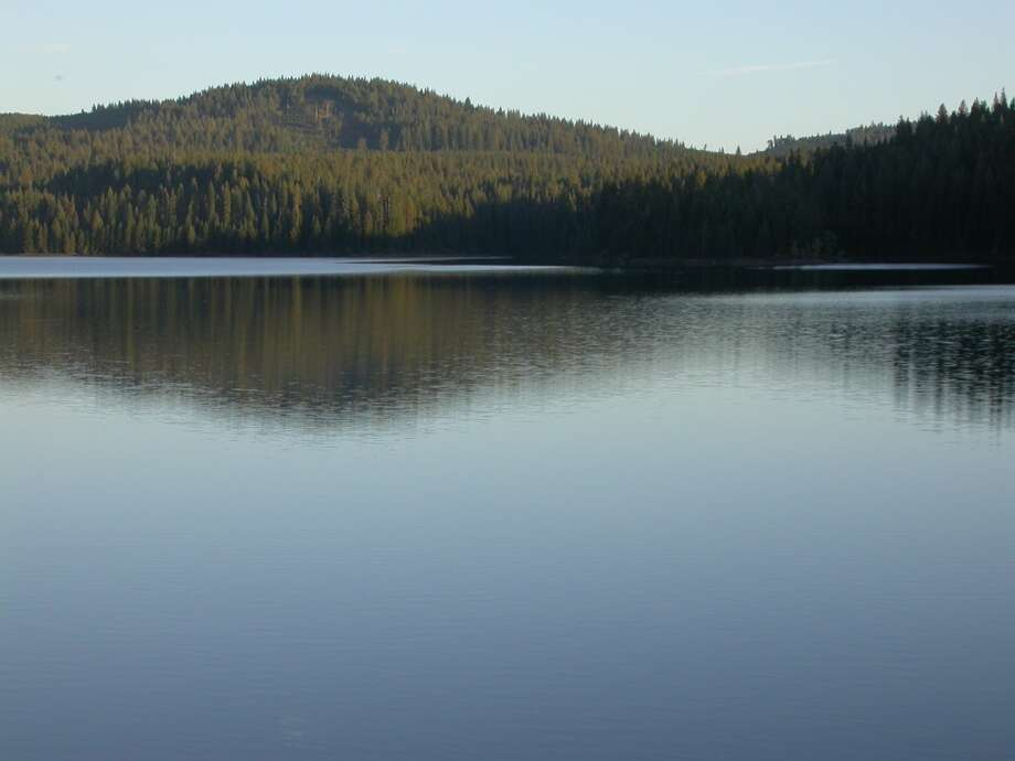 Stumpy Meadows Reservoir is a pretty lake located up the hill from Georgetown Photo: Tom Stienstra
