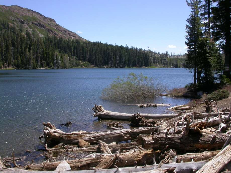 Feely Lake in the Bowman Lakes Rec Area Photo: Tom Stienstra