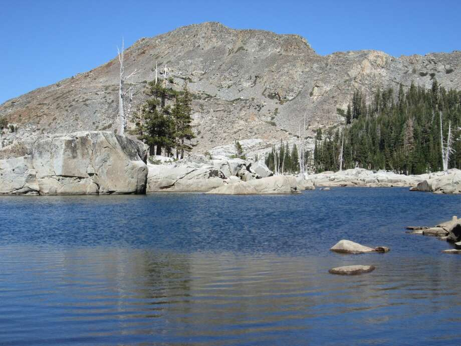 Aloha Lake in Desolation Wilderness is low, but still makes for gorgeous getaway Photo: Tom Stienstra
