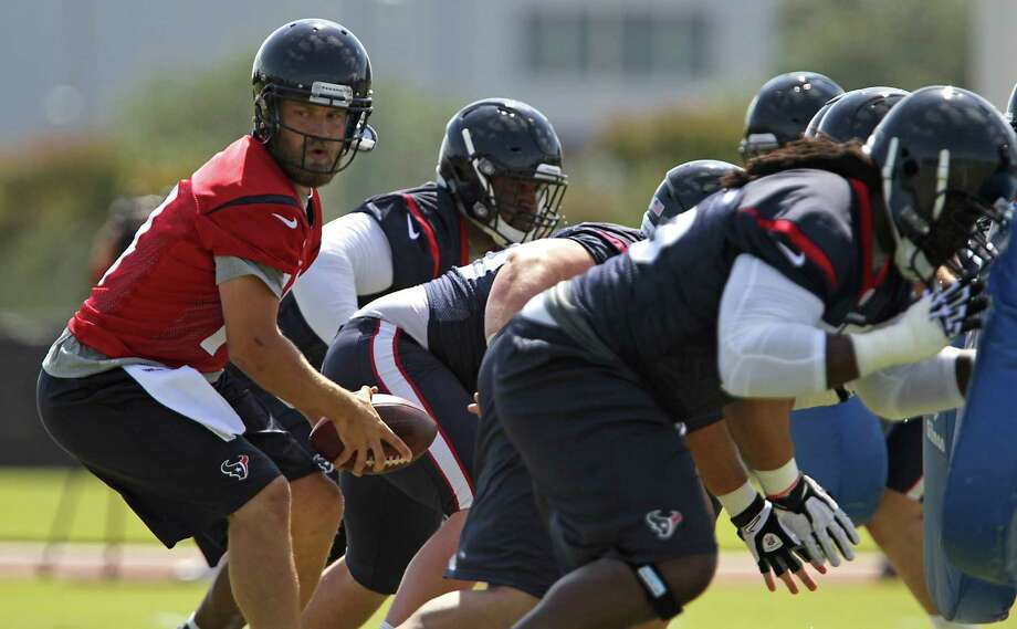 The Texans' newly named starting quarterback Ryan Fitzpatrick had rough stints in Buffalo and Tennessee. Photo: James Nielsen, Staff / © 2014  Houston Chronicle