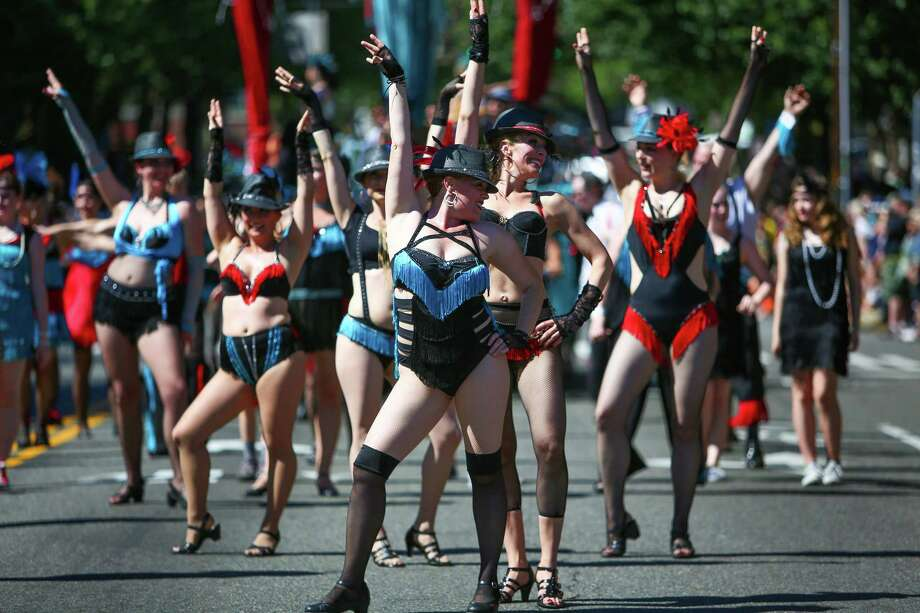 Dancers perform during the annual Fremont Solstice Parade.. Photo: JOSHUA TRUJILLO, SEATTLEPI.COM / SEATTLEPI.COM