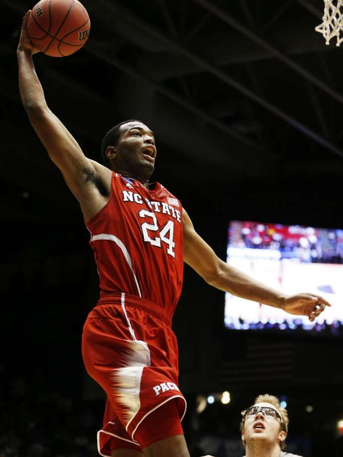 T.J. Warren  Position: Forward  Ht./Wt: 6-8/230 lbs  School: North Carolina State  Classification: Sophomore   2013-14 stats: 25 points, seven rebounds, 1 assist per game Photo: Gregory Shamus, Getty Images