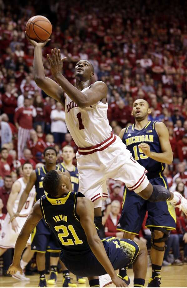 Noah Vonleh  Position: Forward  Ht./Wt: 6-10/240 lbs  School: Indiana  Classification: Freshman  2013-14 stats: 11 points, nine rebounds, one assist per game Photo: Michael Conroy, Associated Press