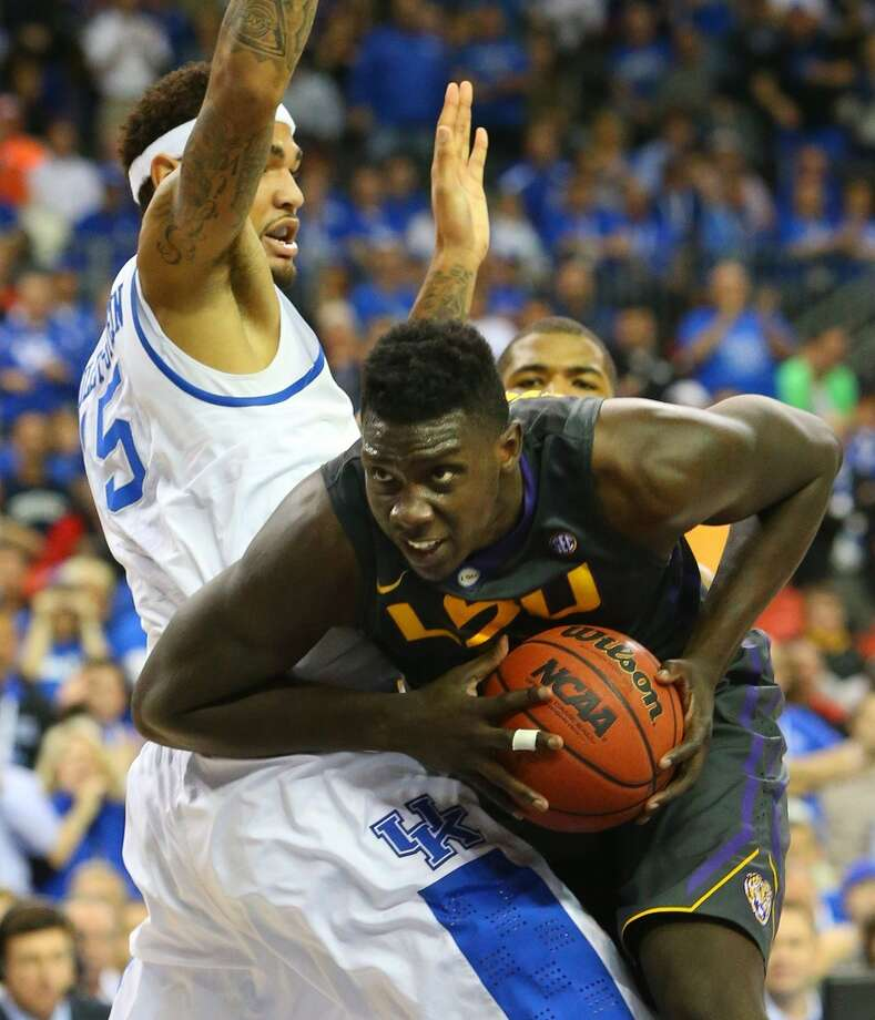 Johnny O'Bryant  Position: Forward  Ht./Wt: 6-9/255 lbs  School: LSU  Classification: Junior  2013-14 stats: 15 points, eight rebounds, two assists per game Photo: Curtis Compton, MCT