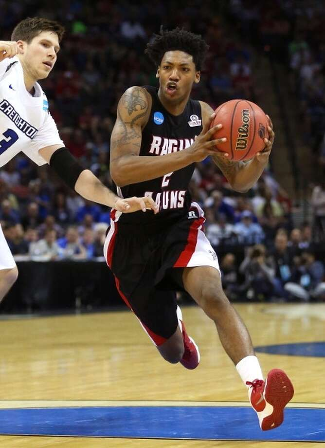 Elfrid Payton  Position: Guard  Ht./Wt: 6-3/180 lbs  School: Louisiana-Lafayette   Classification: Junior  2013-14 stats: 19 points, six rebounds, six assists, two steals per game Photo: Ronald Martinez, Getty Images