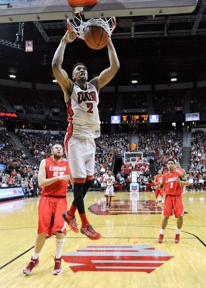 Khem Birch  Position: Forward  Ht./Wt: 6-9/220 lbs  School: UNLV  Classification: Junior  2013-14 stats: 12 points, 10 rebounds, one assist, four blocks per game Photo: Ethan Miller, Getty Images
