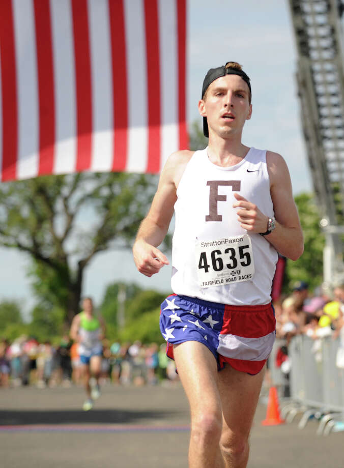 The Fairfield Half Marathon at Jennings Beach in Fairfield, Conn. on Sunday, June 22, 2014. Photo: Brian A. Pounds / Connecticut Post