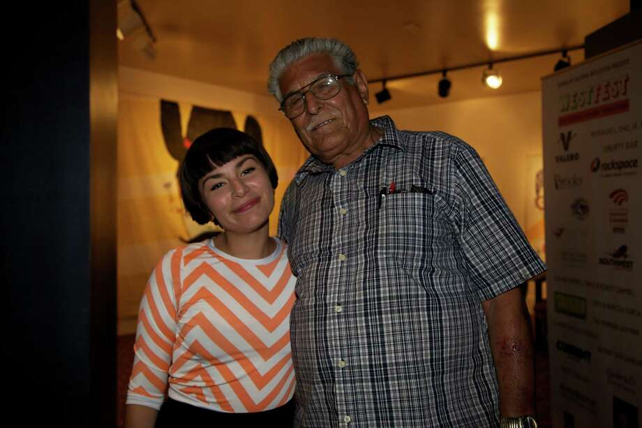 Here are the revelers who showed up to listen to Mexican Institute of Sound during the Guadalupe Cultural Arts Center's annual family event, West Fest. Photo: By Xelina Flores-Chasnoff, For MySA.com