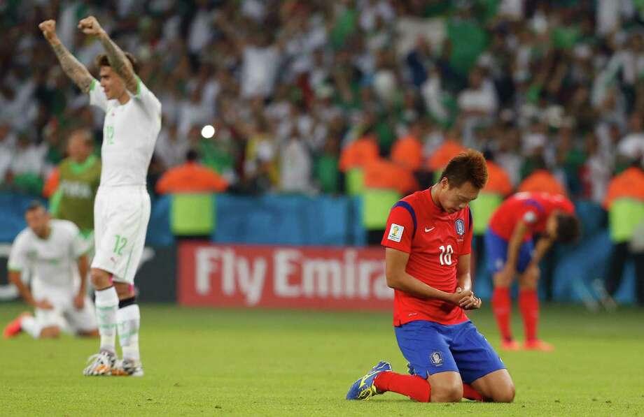 June 22Algeria 4, South Korea 2 Photo: Jon Super, Associated Press / AP