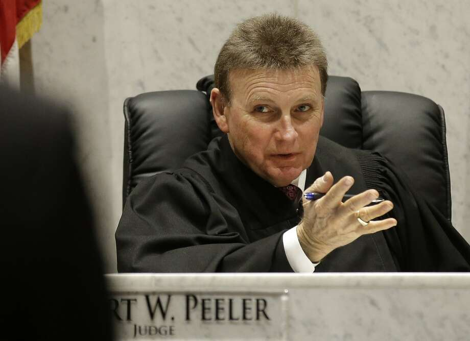Robert Peeler of Lebanon, Ohio, is among the judges across the country who have called for injections of the drug Vivitrol to help get addicts off heroin. Photo: Al Behrman, Associated Press