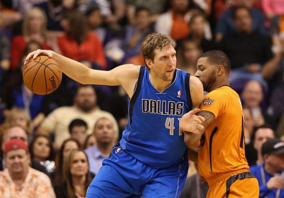 Dirk Nowitzki Power forward Age: 35 Status: Agreed to three-year $30 million deal with Dallas Mavericks. Photo: Christian Petersen, Getty Images / 2014 Getty Images
