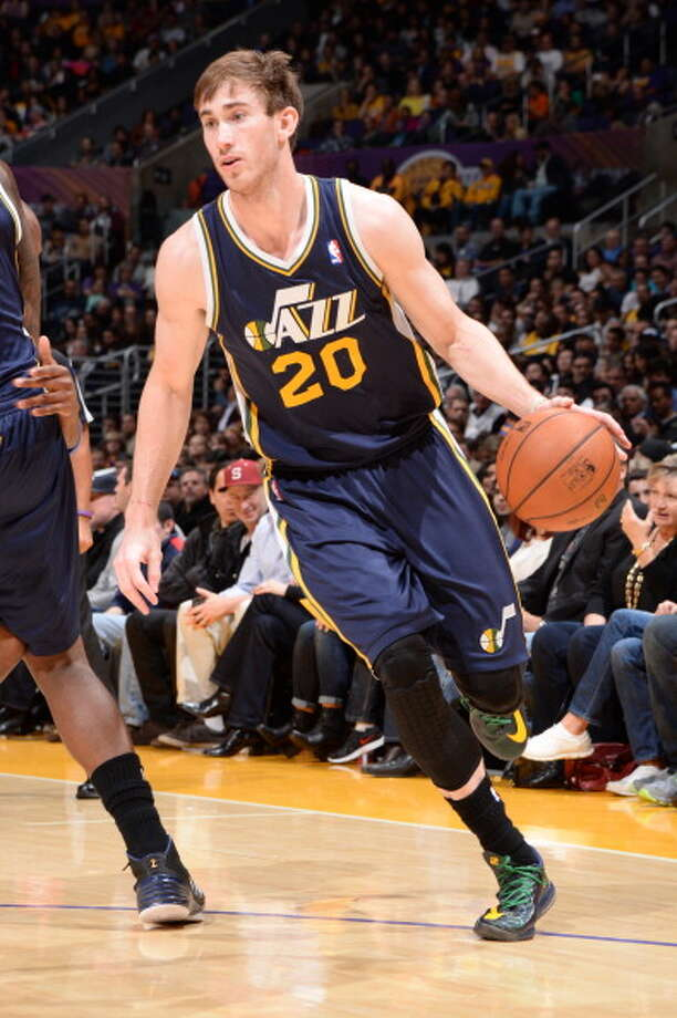 Gordon Hayward Shooting guard Age: 24 Status: Utah Jazz match four-year, $63 million offer sheet Hayward signed with the Charlotte Hornets. Photo: Andrew D. Bernstein, NBAE/Getty Images / 2013 NBAE