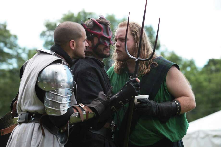 The Questless Company performs at the  Midsummer Fantasy Renaissance Faire at Warsaw Park in Ansonia, Conn. on Sunday, June 22, 2014. The faire continues for two more weekends, June 28-29 and July 5-6,  from 11:00am - 6:30pm. Photo: BK Angeletti, B.K. Angeletti / Connecticut Post freelance B.K. Angeletti