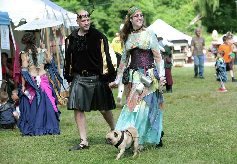 The  Midsummer Fantasy Renaissance Faire begins this weekend and continues for two more weekends, June 28-29 and July 5-6, at Warsaw Park in Ansonia, Conn. on Sunday, June 22, 2014. Photo: BK Angeletti, B.K. Angeletti / Connecticut Post freelance B.K. Angeletti