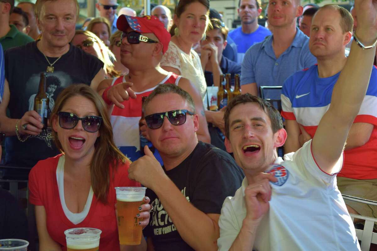 USA and Portugal faced off in the World Cup on Sunday, June 22. Were you SEEN cheering on your team at Tigin Irish Pub and Capriccio Caf� in downtown Stamford?