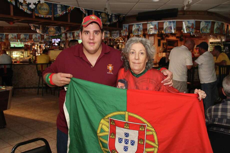 Portugal and USA faced off in the World Cup on Sunday, June 22.  Were you SEEN cheering on your team at the Danbury Portuguese Cultural Center and Old Oak Bar and Grill? Photo: Tania Carreras/Hearst Connecticut Media Group