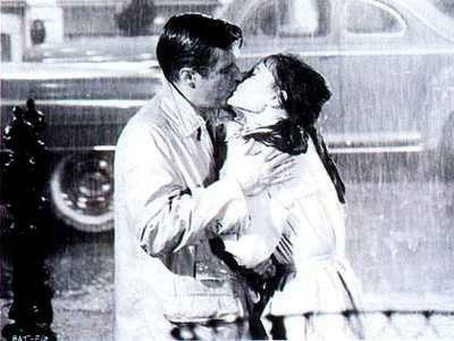"LOVE AS REDEMPTION.  ""Breakfast at Tiffanys"" (1961) is a prime example.  Both people are a mess and become better as a result of falling in love. Photo: Paramount Pictures 1961"