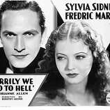 MERRILY WE GO TO HELL (1932) -- fascinating movie, almost a doomed love tale, about an alcoholic playwright who marries an innocent girl and drags her through the gutter.  But the last minutes hint at the possibility of mutual redemption. Featuring a great performance by Fredric March.