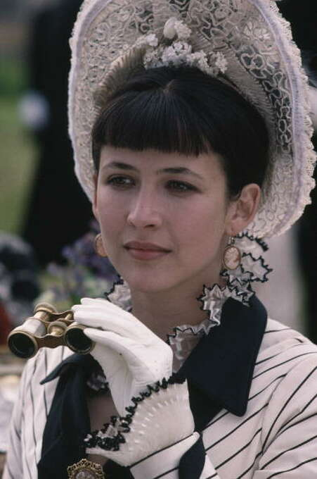 French actress Sophie Marceau as the literary heroine in the film 'Leo Tolstoy's Anna Karenina', 1997. The ultimate adultery story. Photo: Keith Hamshere, Getty Images / 2011 Keith Hamshere