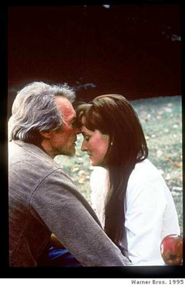 THE BRIDGES OF MADISON COUNTY (1995) -- An adultery movie that functions a little like a doomed love movie, as well.