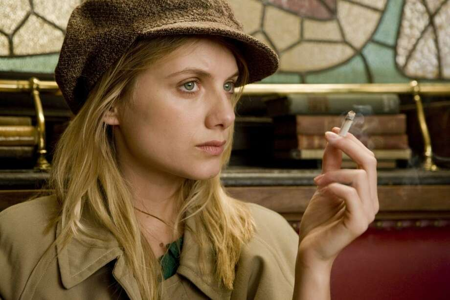 "Melanie Laurent a ""Inglourious Basterds"" (2009).  One of the most effective elements of the film was almost subliminal -- the doomed potential love between the young Jewish woman and the Nazi war hero. Photo: Francois Duhamel, TWC 2009"