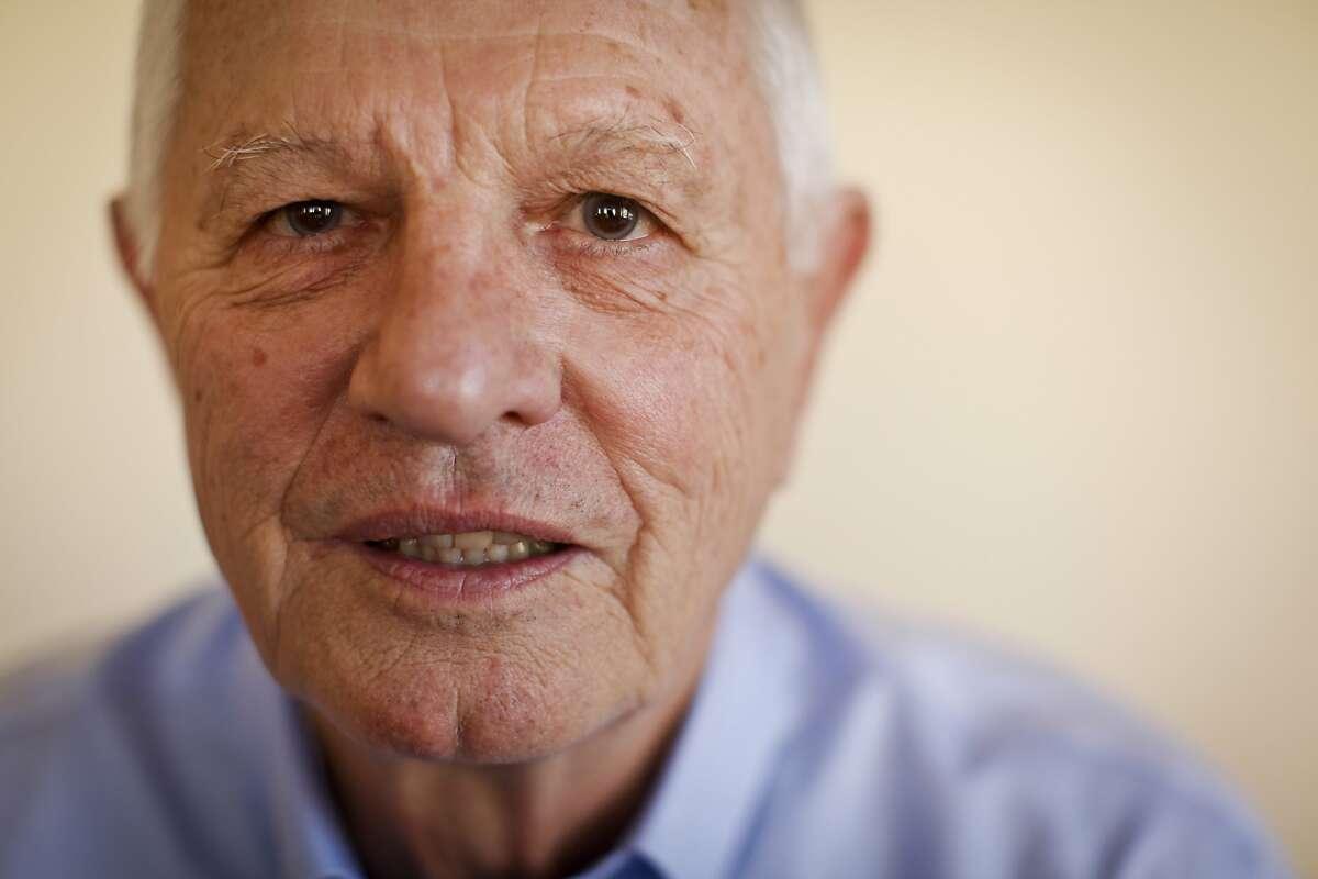 Mayor Tom Bates is seen in his Berkeley, Calif., office on Wednesday, Jan. 30, 2013.