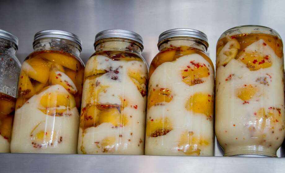 Preserved lemons at The Coachman in San Francisco. Photo: John Storey, Special To The Chronicle