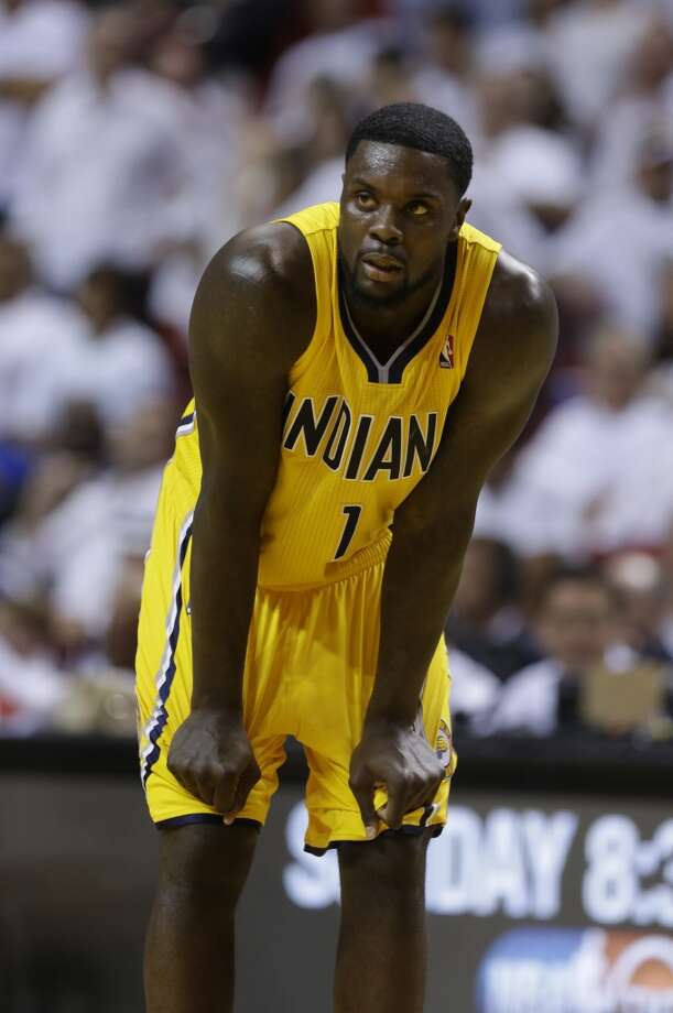 Lance Stephenson Shooting guard Age: 23 Status: Signed three-year, $27 million deal with the Charlotte Hornets. Photo: Lynne Sladky, Associated Press