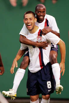 14) Dempsey played soccer in college for Furman University, where he was health and exercise science major. Photo: MARK DUNCAN, AP / AP