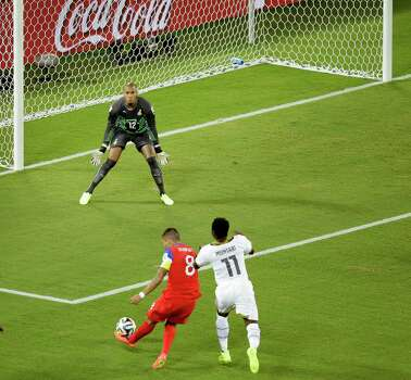 2) In the first game of the 2014 FIFA World Cup, Dempsey scored in the first 34 seconds against Ghana, making his goal the fastest in U.S. World Cup history. Photo: Hassan Ammar, AP / AP