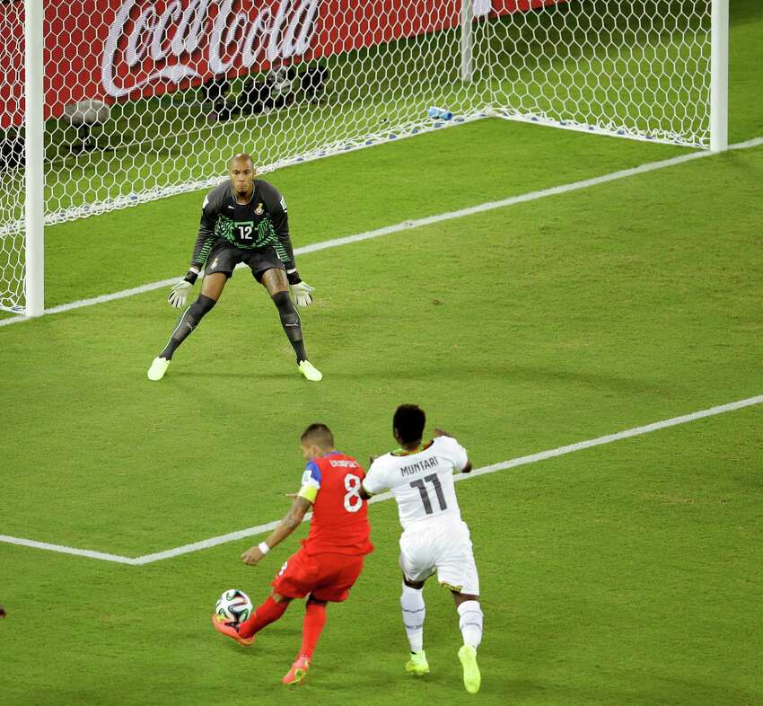 2) In the first game of the 2014 FIFA World Cup, Dempsey scored in the first 34 seconds against Ghana, making his goal the fastest in U.S. World Cup history.