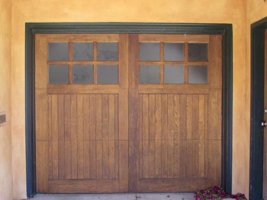 Wooden Garage door in the Marina Photo: Will Hearst