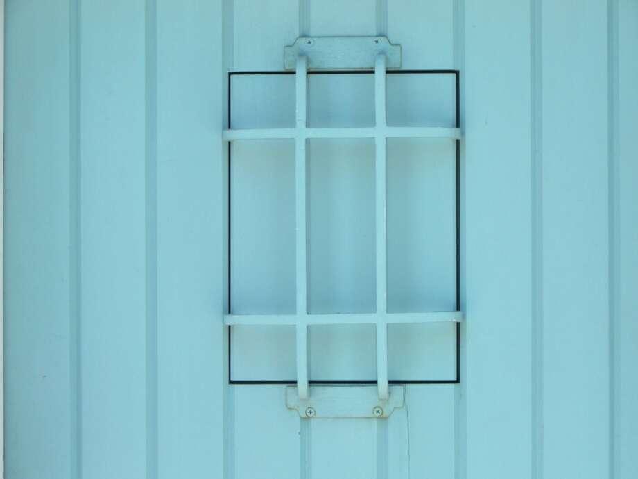Closed up window, the Marina Photo: Will Hearst