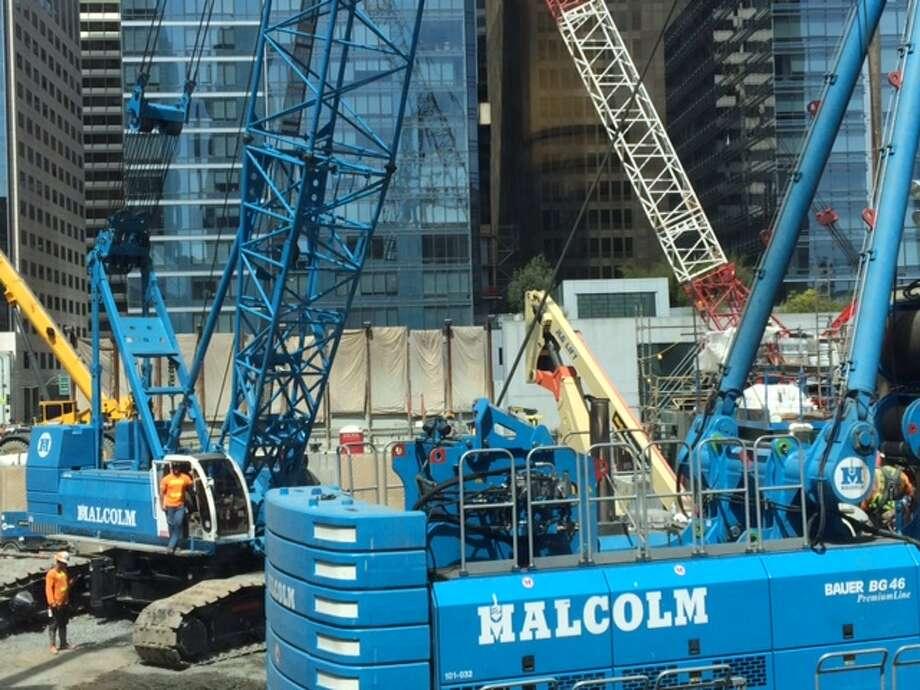 South of Market construction site Photo: Leah Garchik