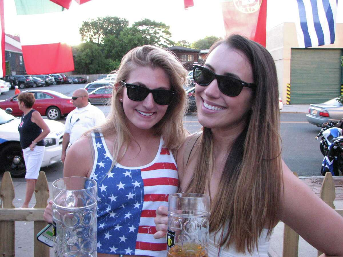 Were you Seen watching U.S.A. and Portugal play to a 2-2 draw in the World Cup match at Wolf's Biergarten in Albany on Sunday, June 22, 2014?