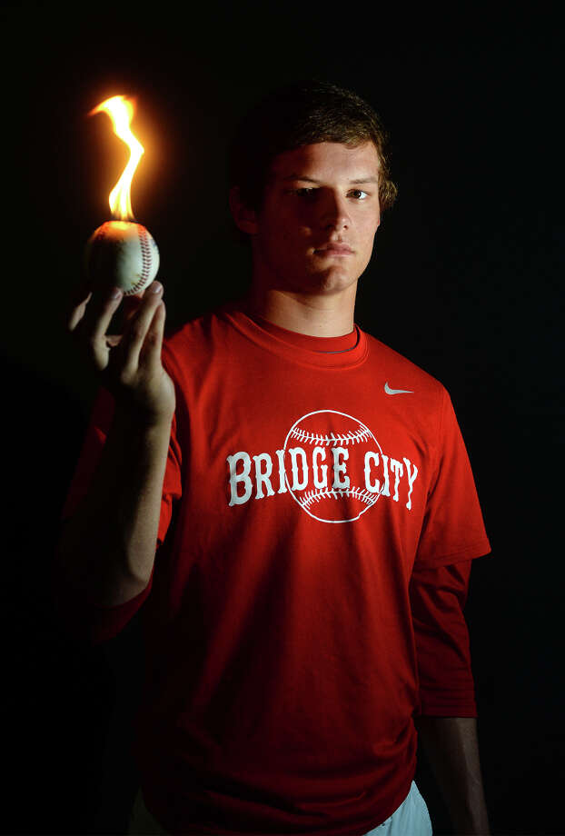 The 2014 Super Gold baseball player is Bridge City's Chase Shugart. Photo taken Wednesday, June 07, 2014 Guiseppe Barranco/@spotnewsshooter Photo: Guiseppe Barranco, Photo Editor