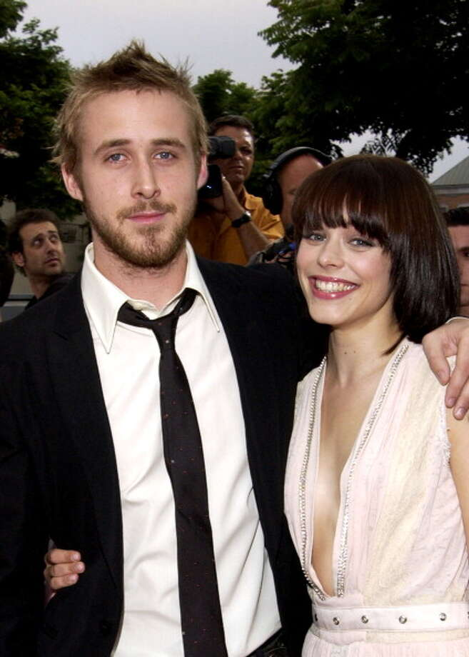 """Ryan Gosling and Rachel McAdams during """"The Notebook"""" premiere in 2004 -- a movie about young love that turns into something else. Photo: Ray Mickshaw, WireImage For New Line Cinema / WireImage"""