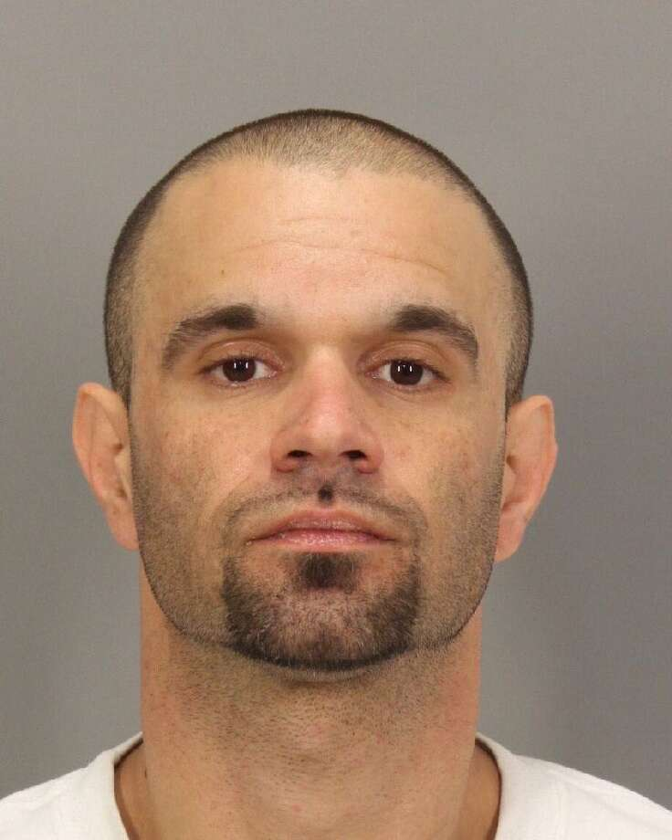 Deputies arrested Ryan Paradiso, 36, on suspicion of burglary, possession of stolen property and probation violation. He is being held at the Santa Clara County Jail without bail. Photo: Santa Clara County Sheriff's Office