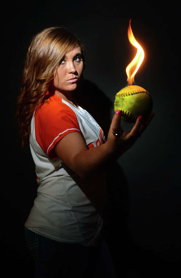 The 2014 Super Gold softball player is Orangefield's Khandi Breaux. Photo taken Wednesday, June 07, 2014 Guiseppe Barranco/@spotnewsshooter Photo: Guiseppe Barranco, Photo Editor