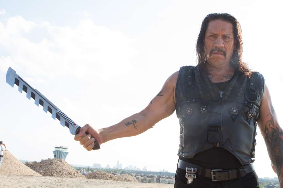 """This image released by Open Road Films shows Danny Trejo in a scene from """"Machete Kills."""" (AP Photo/Open Road Films, Rico Torres)"""