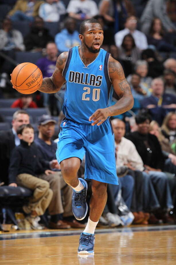 2010- Memphis – Dominique Jones (South Florida) Jones, a point guard, was a draft-night trade to Dallas, where he spent three seasons hopping back and forth between the Mavericks and the D-League. He was waived by Dallas in March 2013 and signed to play for the Liaoning Flying Leopards of the Chinese Basketball Association for 2013-14. Photo: Joe Murphy, NBAE/Getty Images / 2011 NBAE