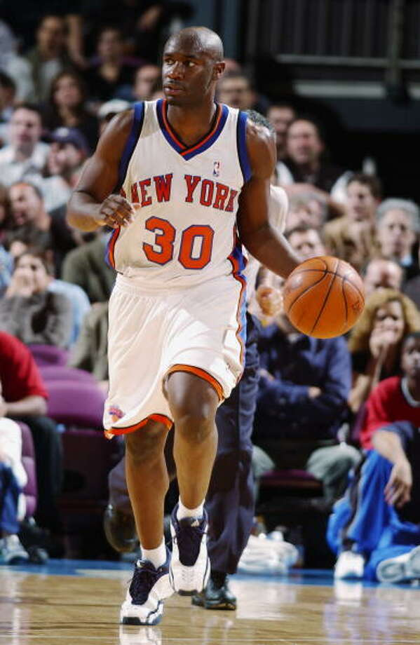 2002- Denver – Frank Williams (Illinois- Urbana Champain) Williams played sparingly for three seasons - two with the Knicks (another draft-night trade) and one with Chicago before being waived in 2005. The last news on Williams was in 2009, when he and his brother Aaron were arrested in Peoria, Ill. on drug charges. Photo: Nathaniel S. Butler, NBAE/Getty Images / 2002 NBAE